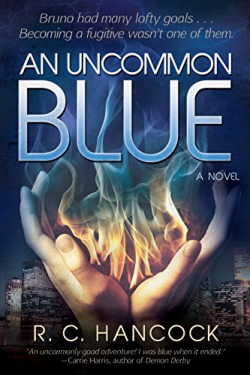an uncommon blue cover