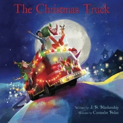 the christmas truck cover