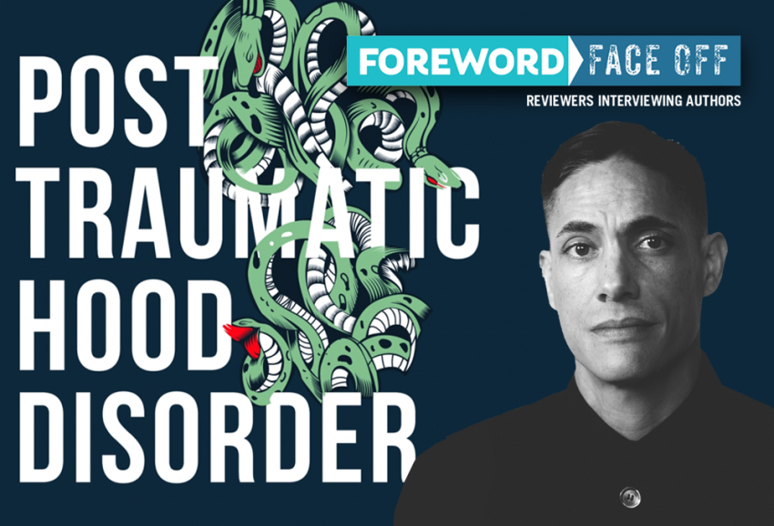 Author and cover image of Post Traumatic Hood Disorder
