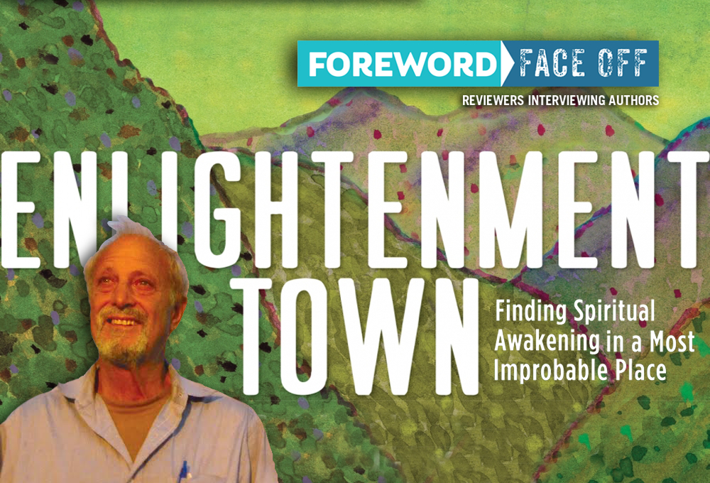 Enlightenment Town cover and Author