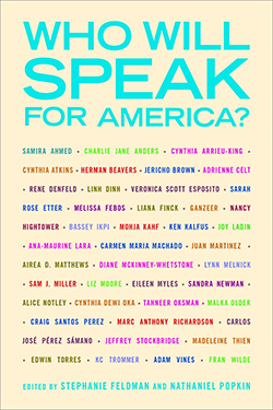 Cover of Who Will Speak for America?