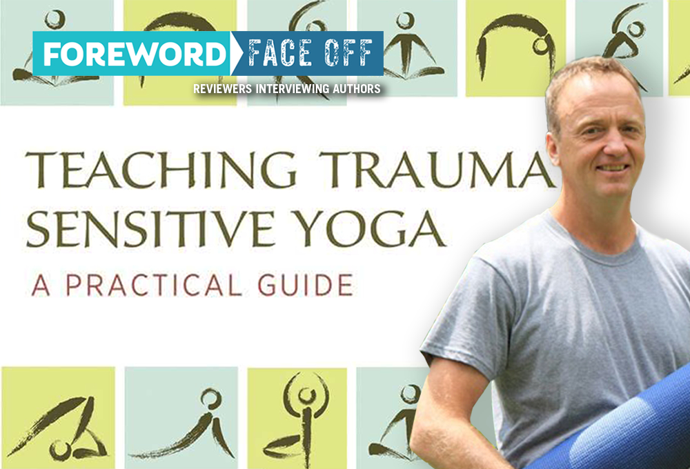 Teaching Trauma Sensitive Yoga cover and author