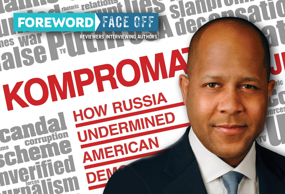 Kompromat cover and author