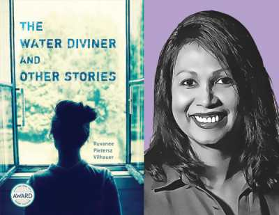 Ruvanee Pietersz Vilhauer and The Water Diviner and Other Stories cover
