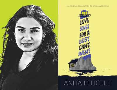 Anita Felicelli and Love Songs for a Lost Continent cover