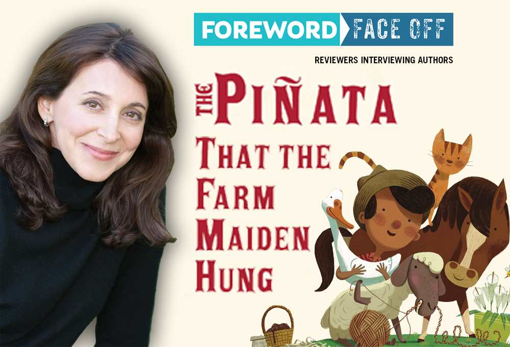 The Pinata That the Farm Maiden Hung cover and author