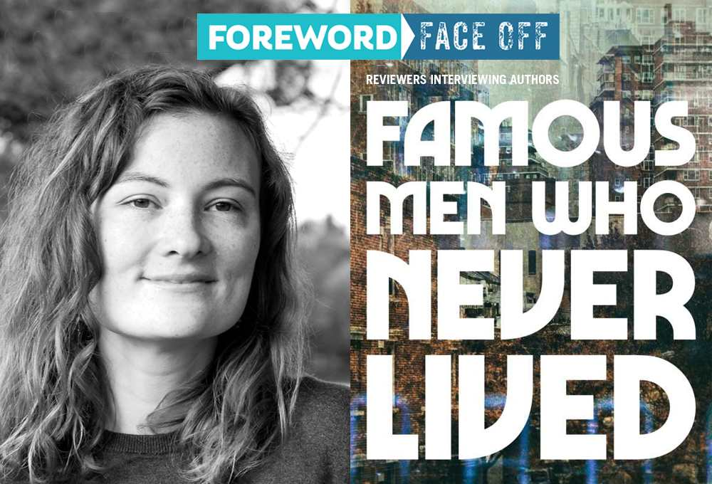 Author K Chess and Famous Men Who Never Lived cover