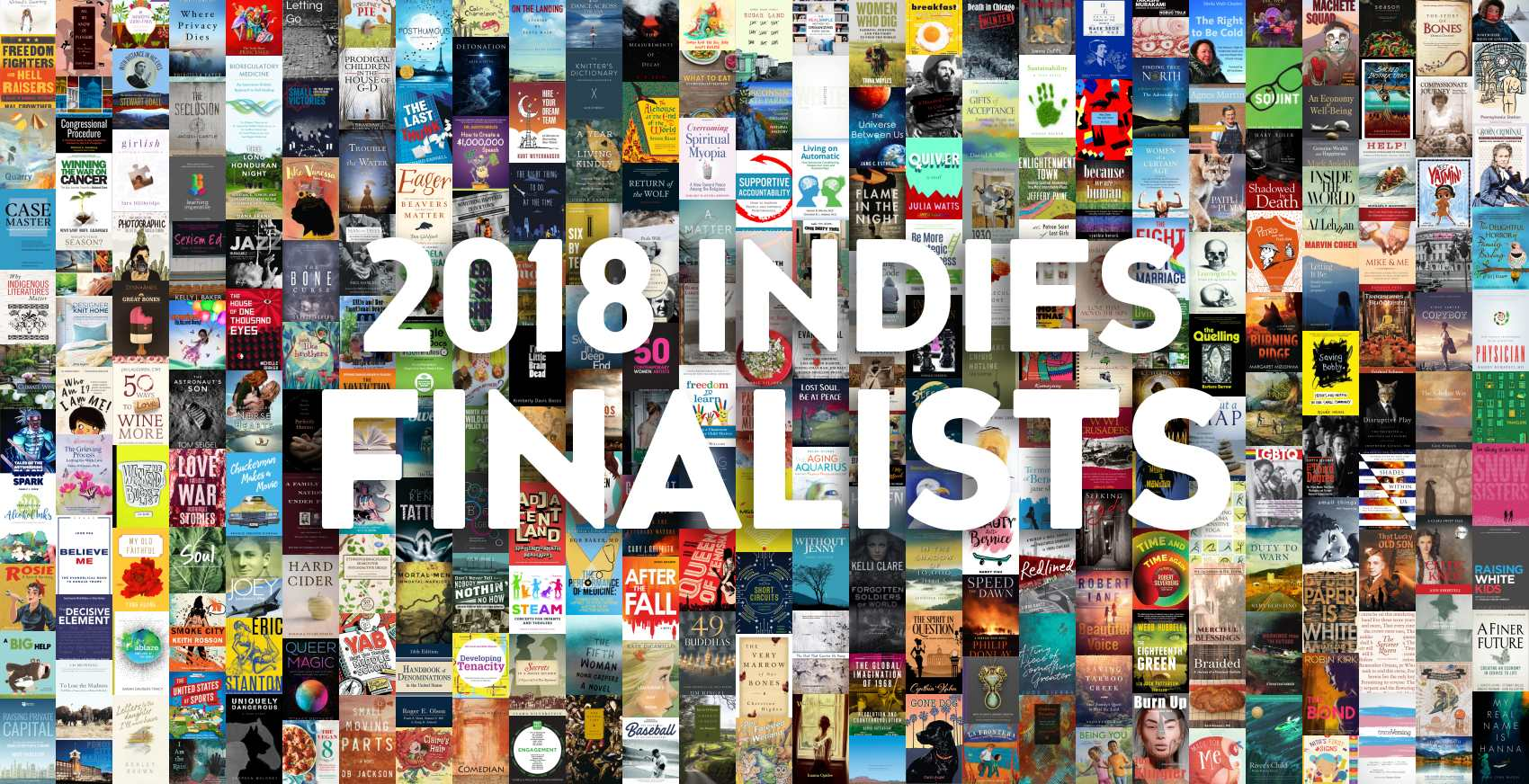 Collage of Foreword INDIES Winners.