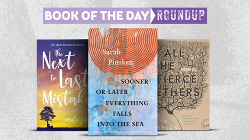 Book of the Day Icon for March 18-22, 2019
