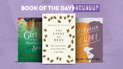 Book of the Day Roundup May 20-24, 2019