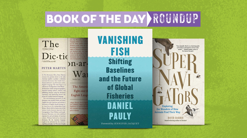 Book of the Day Roundup art for May 27-31