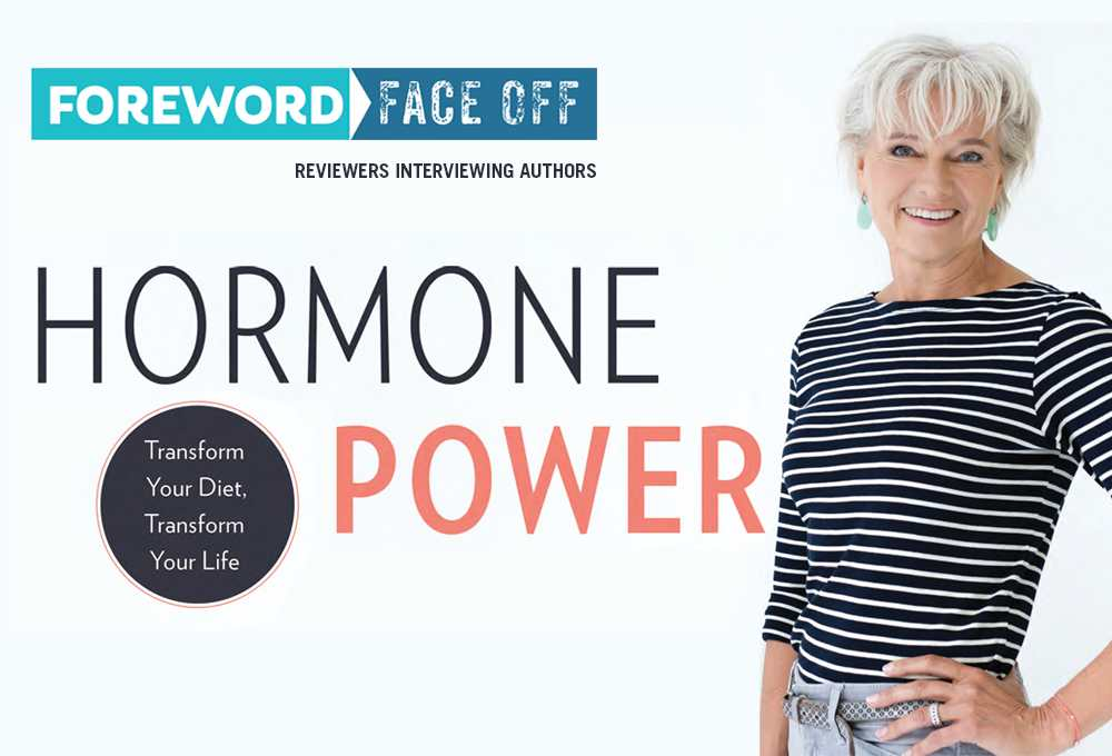 Hormone Power cover and author