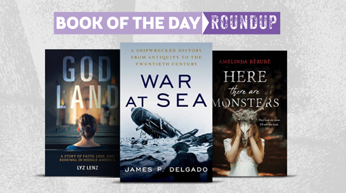 Book of the Day Roundup image for August 5-9, 2019