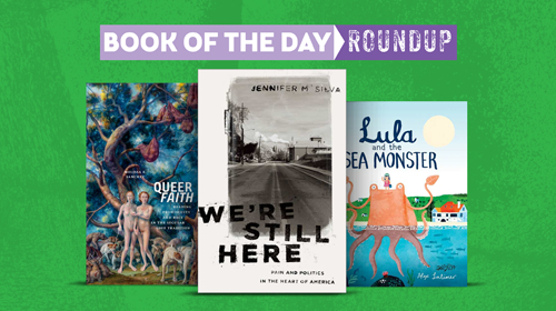 Book of the Day Roundup art for August 19-23, 2019