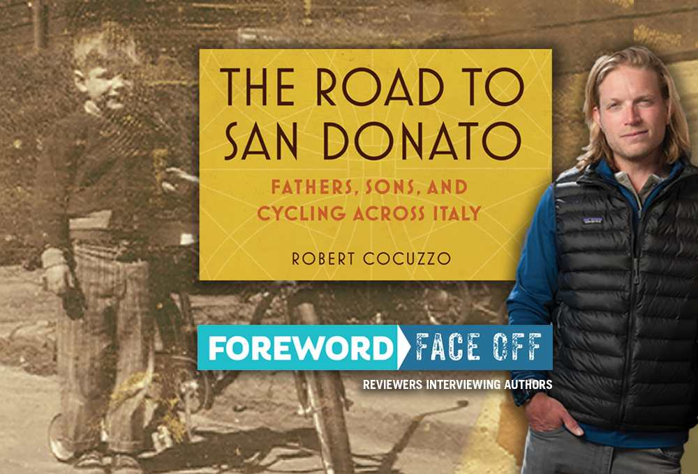 Road to San Donato cover and author