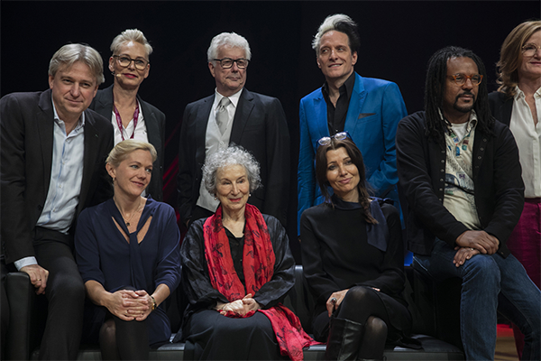 Celebrity authors at Frankfurt Book Fair