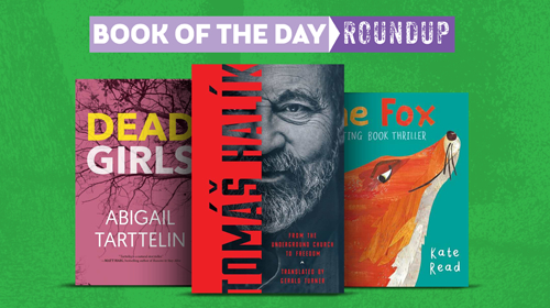 Book of the Day Roundup images for October 28–November 1, 2019