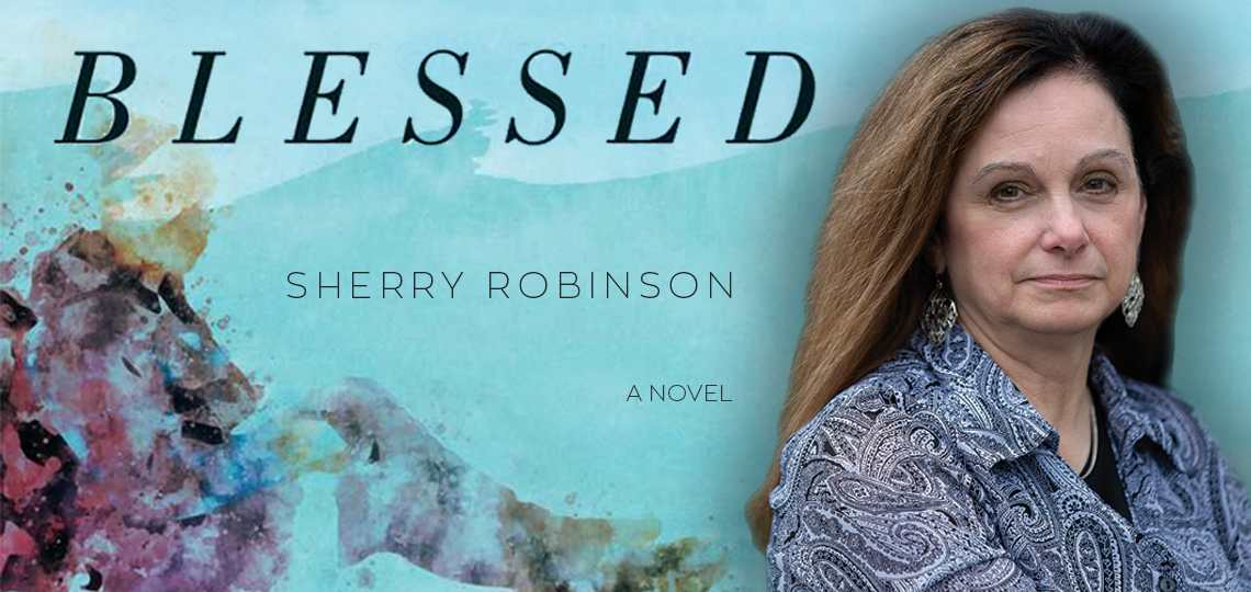 Cover image of Blessed and Author