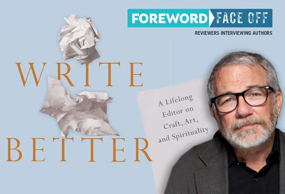 Write Better cover and author