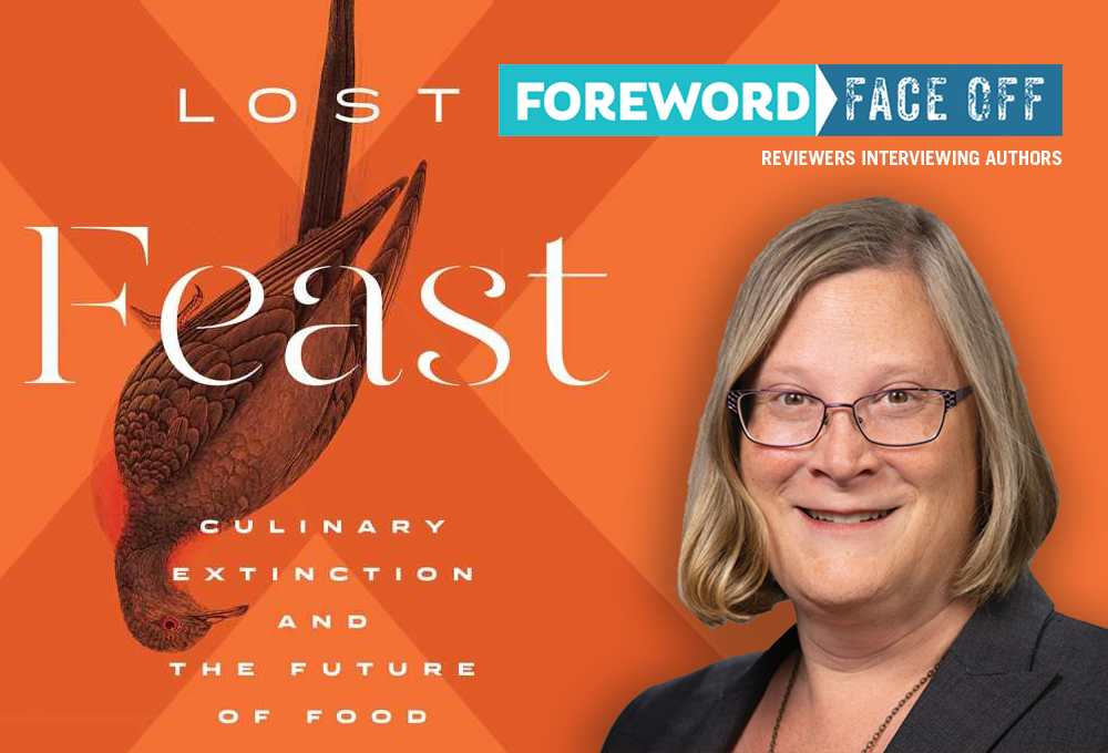 Lost feast cover & author Lenore Newman