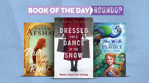 Book of the Day Roundup image for Feb. 3-7, 2020