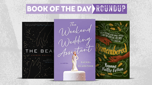 Book of the Day Roundup image for Feb. 10-14, 2020