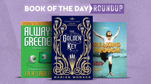 Book of the Day Roundup images for Feb. 17-21, 2020