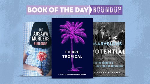 Book of the Day Roundup images for March 2-6, 2020