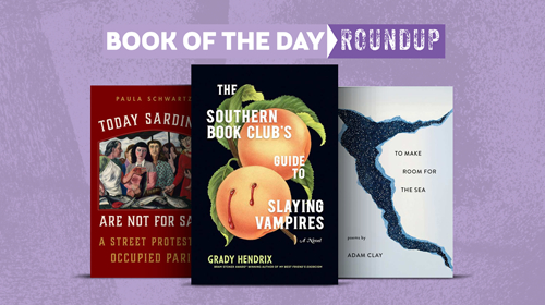 Book of the Day images for March 30-April3, 2020