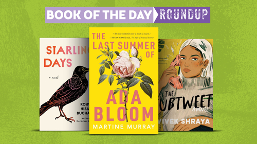 Book of the Day Roundup image for April 6-10, 2020