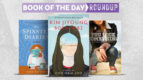 Book of the Day Roundup image for April 13-17, 2020