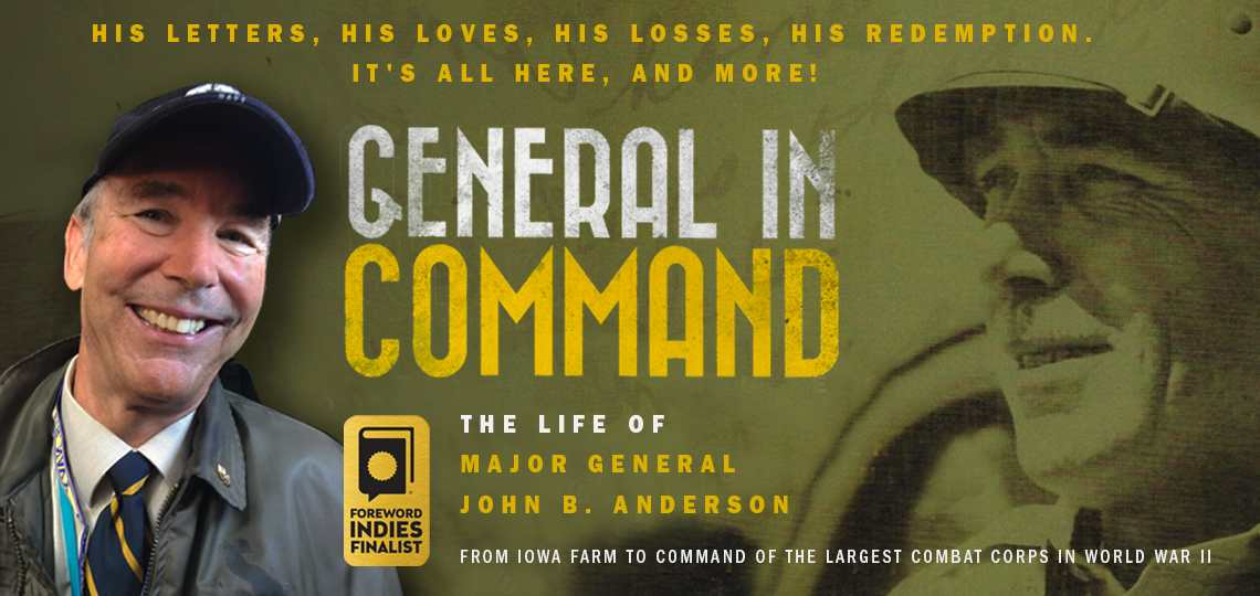 General in Command Author and book cover