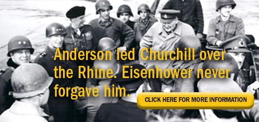 Anderson and Eisenhower: rivals under the same flag.