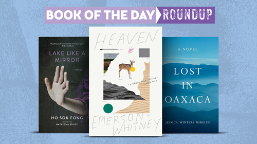 Book of the Day Roundup Image for April 20-24, 2020
