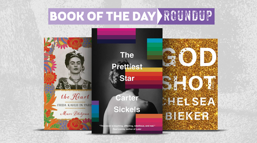 Book of the Day Roundup images for April 27–May 1, 2020