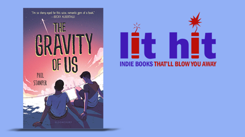 The Gravity of Us cover and Lit Hit logo