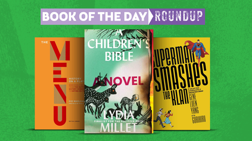 Book of the Day Roundup images for May 11-15, 2020