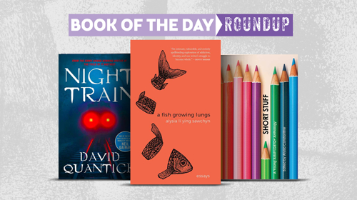 June 8-12, 2020 Book of the Day Roundup image