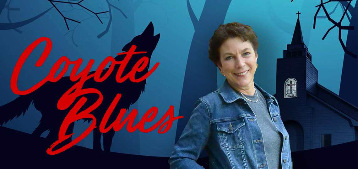Coyote Blues cover and author