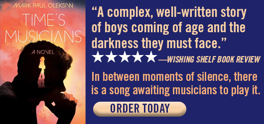 """""""A complex, well-written story of boys coming of age and the darkness they must face.""""—Wishing Shelf Book Review. In between moments of silence, there is a song awaiting musicians to play it. Order today."""