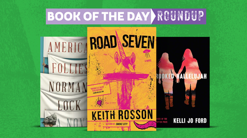 Book of the Day Roundup image for July 13-17, 2020