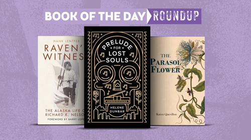 Book of the Day Roundup Image for August 3-7, 2020