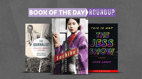 Book of the Day Roundup image for August 10-14, 2020