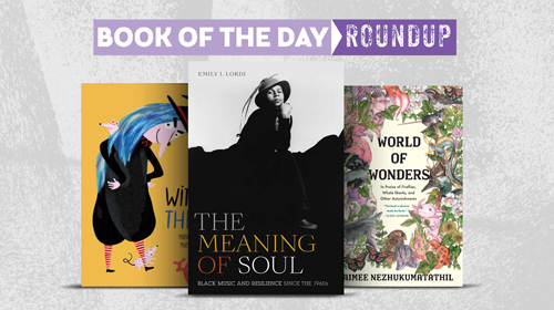 Book of the Day Roundup for August 17-21, 2020
