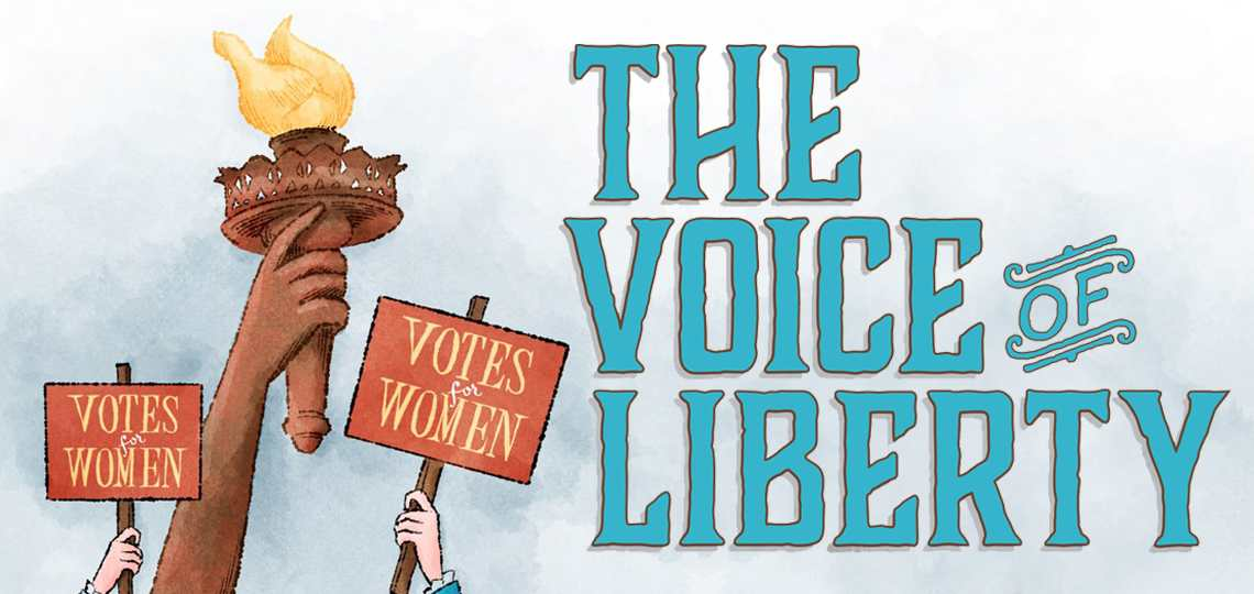 The Voice of Liberty billboard