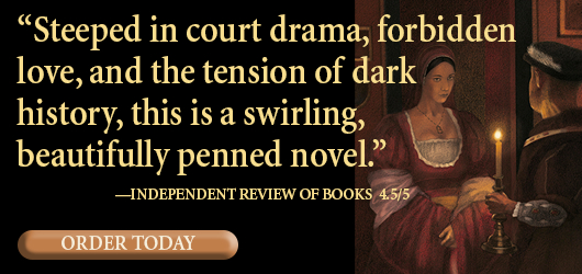 """""""Steeped in court drama, forbidden love, and the tension of dark history, this is a swirling, beautifully penned novel."""" Independent Review of Books 4.5/5 Order Today"""