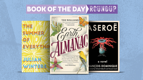 book of the day roundup september 21-25 2020