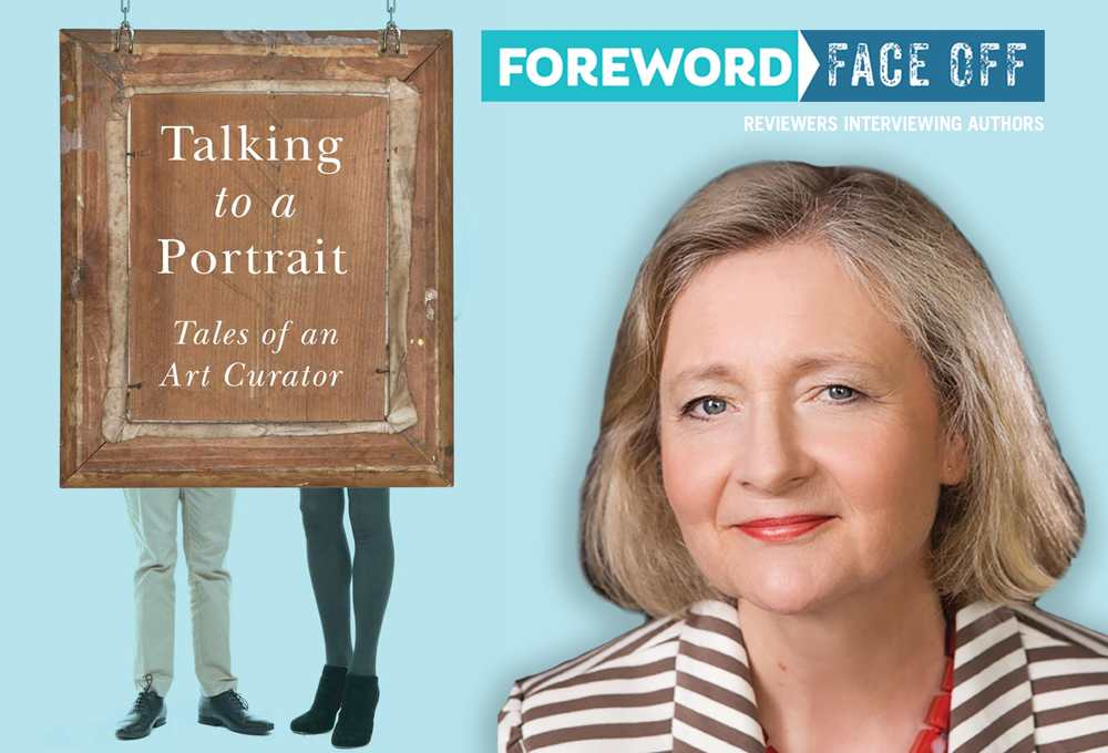 Talking to a Portrait billboard