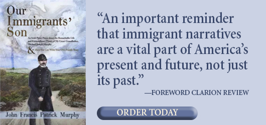 "Our Immigrants' Son - ""An important reminder that immigrant narratives are a vital part of America's present and future, not just its past."" Foreword Clarion Review Order Today"