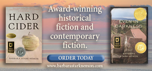 Award winning historical fiction and contemporary fiction. Order Today www.barbarastarknemon.com